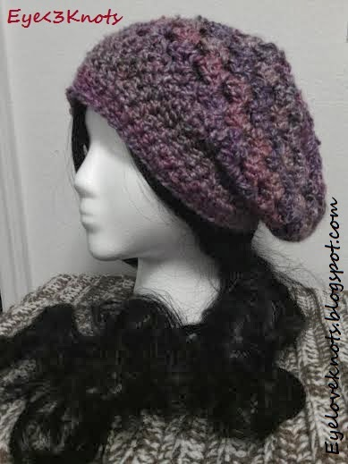 Adult And Toddler Mixed Berries Slouchie Hat And Scarf Pattern Reviews
