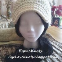 Adult Woman's Short Crochet Slouchy Hat with Visor – Pattern REVIEW