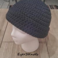 Forest Green Adult Beanie – Free Crochet Pattern