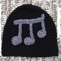 Adult Black Beanie in Rhythm – Free Crochet Pattern