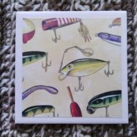 New Summer Ceramic Tile Coasters – Batch #1