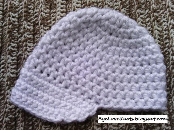Crochet Adult Chunky Beanie With Brim Option Free Pattern
