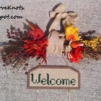 Quick, Easy & Simple DIY Fall Grapevine Swag – Fall Welcome Sign