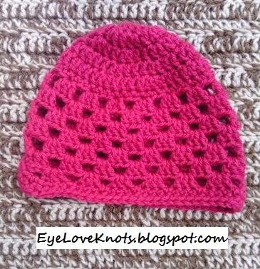 Newborn Granny Square Beanie + Notes to Upsize – Free Crochet Pattern e3c02e0dbe2