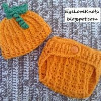 Crochet Pumpkin Hat and Diaper Cover – Crochet by Jennifer – Pattern REVIEW