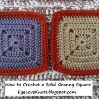 Crochet Solid Granny Square – Free Pattern – Yarn Bee Soft Secret Yarn Review