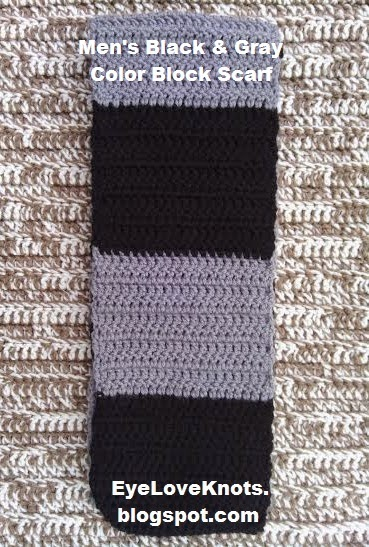 Mens Crochet Scarf Pattern Stripes Image Collections Knitting