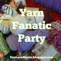Yarn Fanatic Link Party #18 – My First!
