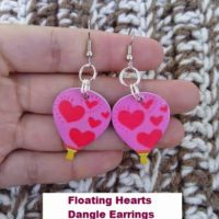 Floating Hearts Hot Air Balloon Dangle Earrings – Easy Jewelry DIY
