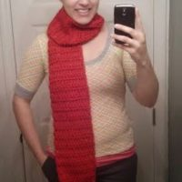 Melodie's Chunky Adult Scarf – Free Crochet Pattern