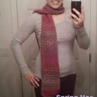 Spring Has Sprung Scarf – Valentine Inspired – Crochet Pattern Review