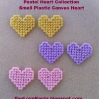 Small Plastic Canvas Hearts – Free Plastic Canvas Pattern
