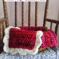 How to Crochet a Shell Edge – Feminine Berry Blast Photo Prop Basket Filler – Free Crochet Pattern