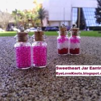 Sweetheart Jar Earrings – Valentine's Inspired – Easy Jewelry DIY