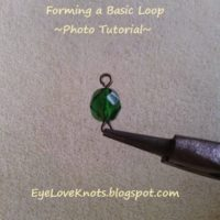 Forming a Basic Loop – Jewelry DIY