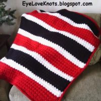 It's Great to Be a Grenadier! Slanted Shell Afghan – Free Crochet Pattern