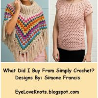 What Did I Buy from Simply Crochet? – Crochet Pattern Finds