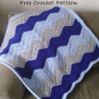I Love This Soft Ripple Baby Blanket – Free Crochet Pattern