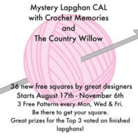 Mystery Lapghan CAL – 36 Free Crochet Square Patterns