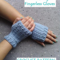 Women's Sweet Delight Fingerless Gloves – Free Crochet Pattern