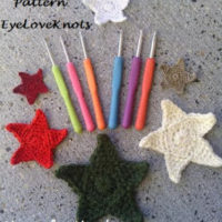 Star Applique in 6 Sizes with Haven for Hand Ergonomic Crochet Hooks! – Free Crochet Pattern & Review