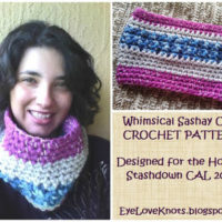 The Whimsical Sashay Cowl – Free Crochet Pattern