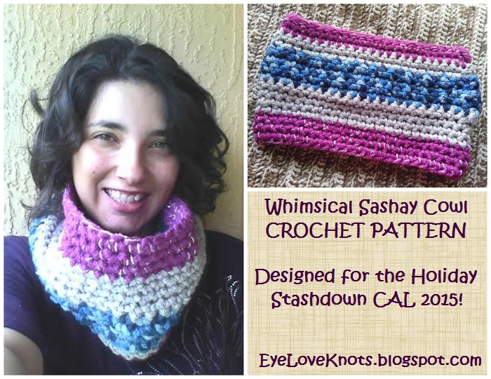 The Whimsical Sashay Cowl Free Crochet Pattern