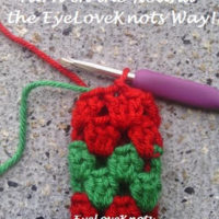 How to Carry Up Yarn in the Round the EyeLoveKnots Way – Crochet Tutorial