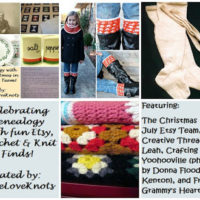 Celebrating Genealogy – Etsy Features, Crochet & Knit Finds