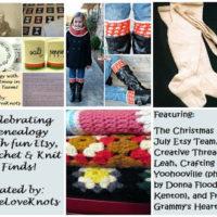 Celebrating Genealogy – Etsy Features, Crochet & Knit Finds