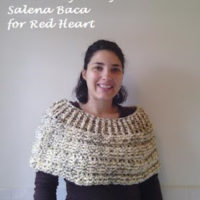 Cowl Shoulder Cozy – Crochet Pattern Review – Red Heart/Salena Baca