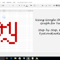 Using Google Sheets to Create a Graph for Yarn Patterns – Photo Tutorial
