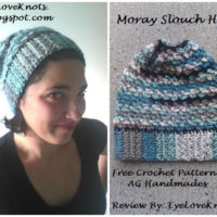 Moray Slouchy Hat – Crochet Pattern Review – AG Handmades
