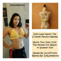 Elfin Leaf Halter Top – Crochet Pattern Review – EarthTricks