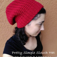 Pretty Simple Slouch Hat – Crochet Pattern Review – Crochet n Crafts