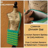 Chevron Shoulder Bag – Rebeckah's Treasures – Crochet Pattern Review