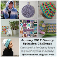 January 2017 Granny-Spiration Challenge – Last Few Days to Share & Enter