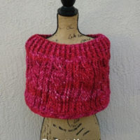 Winter is Almost Over! Berry Blast Chunky Cabled Cozy GIVEAWAY!