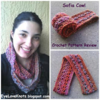 Sofia Cowl – Crochet Pattern Review – Red Heart