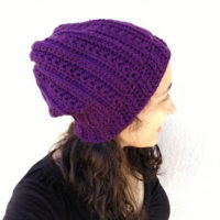 Heartstrings Slouch Hat – Crochet Pattern Review – Kirsten Holloway Designs