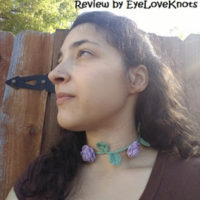 Ring Around the Rosy Choker – Crochet Pattern Review – Rebeckah's Treasures