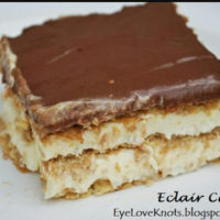 Eclair Cake – Recipe Review – The Country Cook