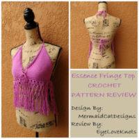 Essence Fringe Top – Crochet Pattern Review – MermaidCatDesigns