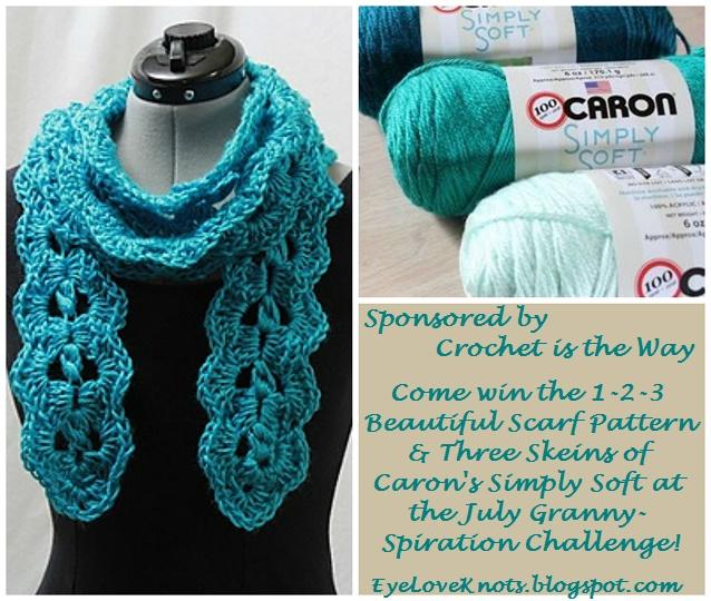 Single Solid Granny Square Ottoman Cover Free Crochet Pattern