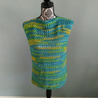 Oasis Cluster Top – Free Crochet Pattern