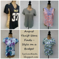 August Thrift Store Finds – Style on a Budget
