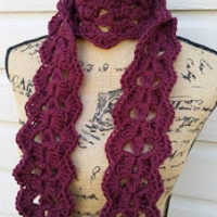 1-2-3 Beautiful Scarf – Crochet Pattern Review – Crochet is the Way