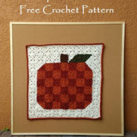 Pumpkin Pixel Art – Free Crochet Pattern