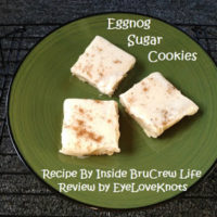 Eggnog Sugar Cookies – Recipe Review – Inside BruCrew Life