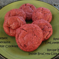 Red Velvet Peppermint Pattie Cookies – Recipe Review – Inside BruCrew Life